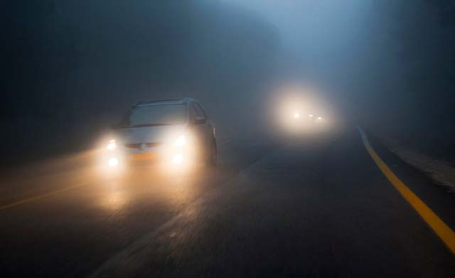 Car Advice While Driving in Fog