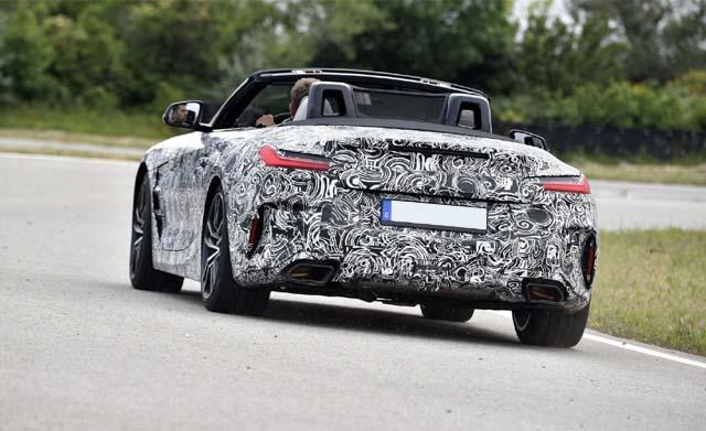 Release-of-BMWZ4-2019-Rear
