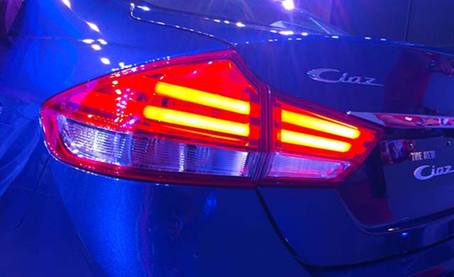 2018 Maruti Suzuki Ciaz Rearlight