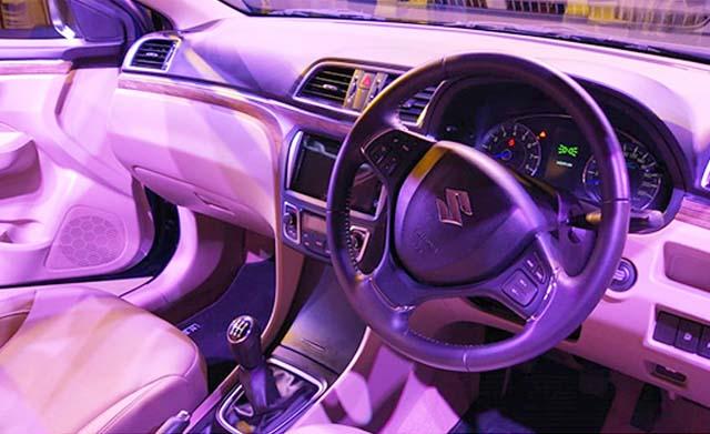 Maruti Suzuki Dashboard