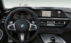 2019 BMW Z4 Revealed Dashboard