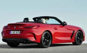 2019 BMW Z4 Revealed Rear View