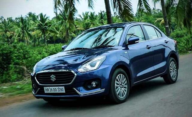 Maruti Dzire Special Edition On the Road