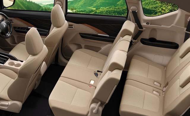 Mitsubishi Xpander SUV Seating