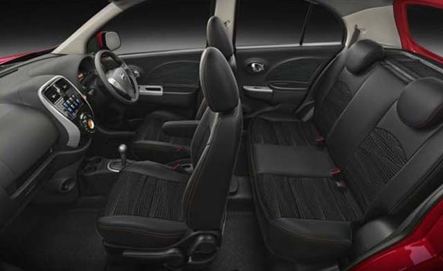 Nissan Micra Seating