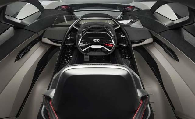 Audi PB-18 E-tron Car