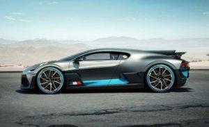 Bugatti Divo Unveiled Side View