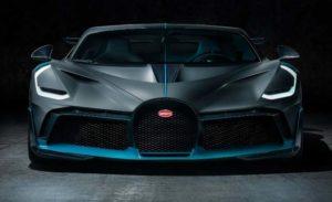 Bugatti Divo Unveiled Front View