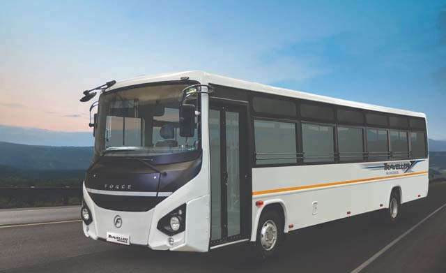 force-motors-launches-traveller-monobus-at-busworld-sideview