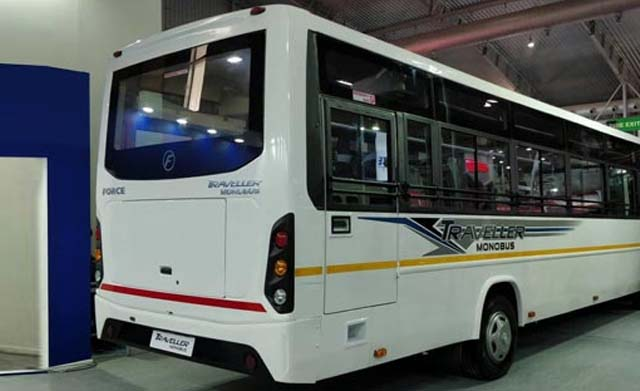 force-motors-launches-traveller-monobus-at-busworld-rearview