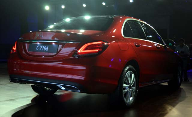 C-Class facelift launched