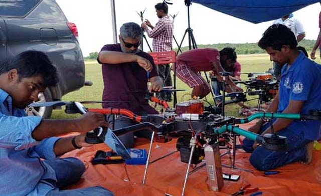 Ajith mentored MIT's UAV team