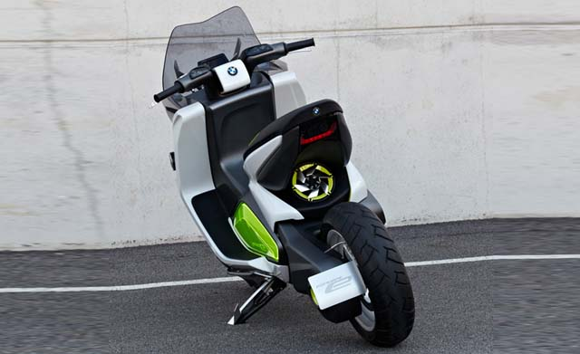 electric two wheeler rear