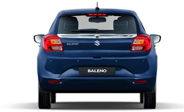 Maruti Suzuki Baleno Limited Edition Rear