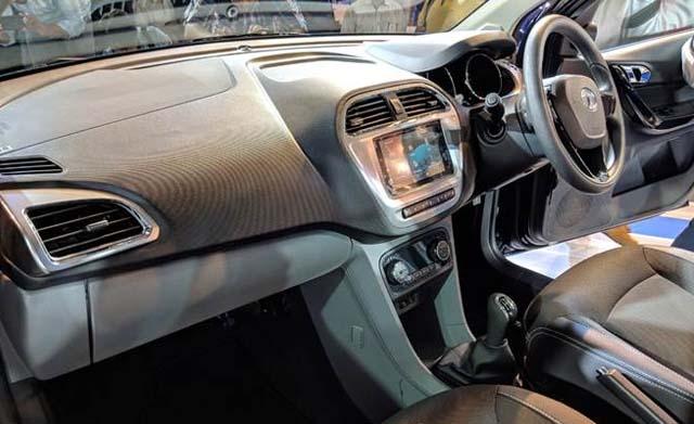 2018 Tata Tigor Facelift Dashboard