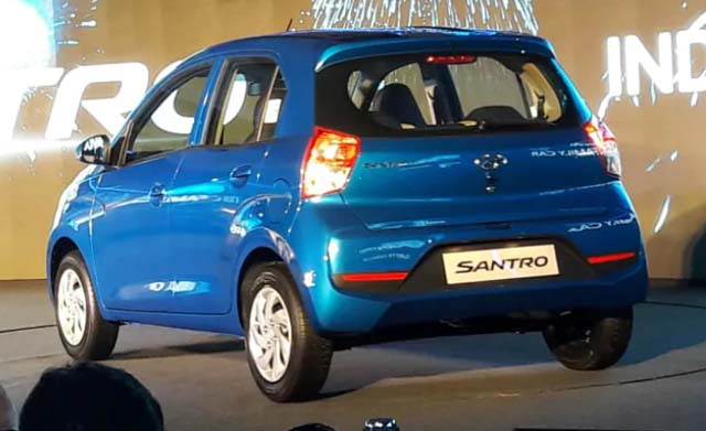 2018 Hyundai Santro Launched India