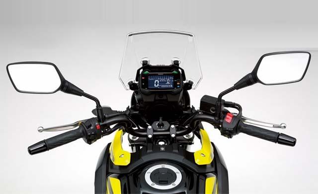 Suzuki V-Strom 650XT ABS Dashboard