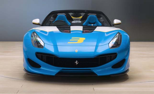 Ferrari SP3JC Car Images