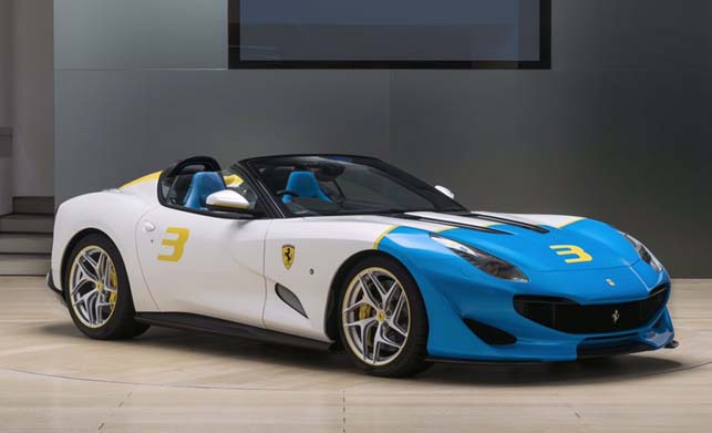 Ferrari SP3JC Car News