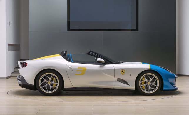 Ferrari SP3JC Side view Images