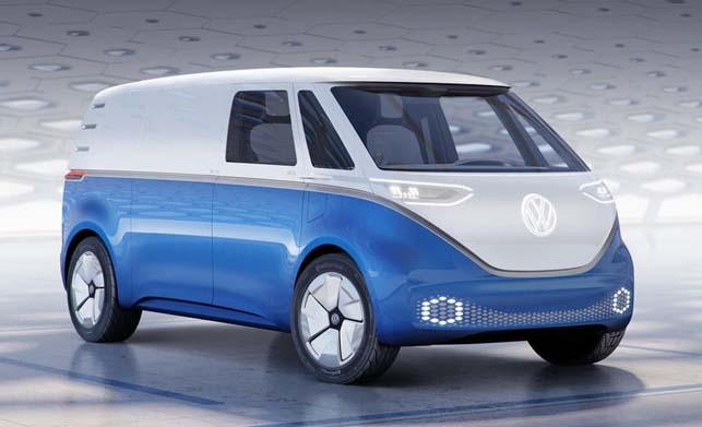 Volkswagen I.D. Buzz Cargo Concept Car Images