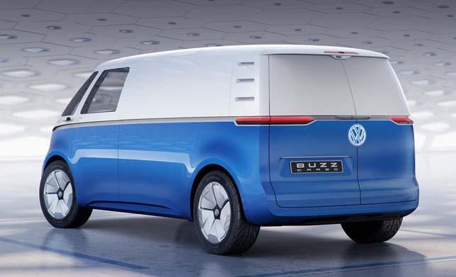 Volkswagen ID Buzz Cargo Concept Pictures