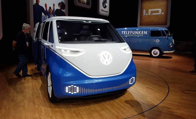 Volkswagen ID Buzz Cargo Concept Cars