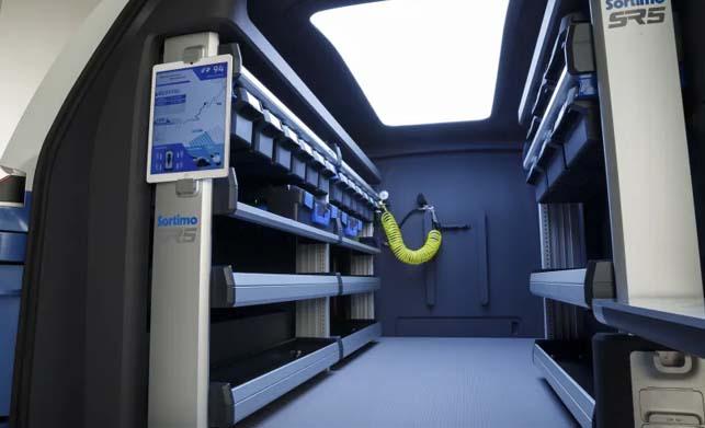 Volkswagen ID Buzz Cargo Concept Car Interior Images