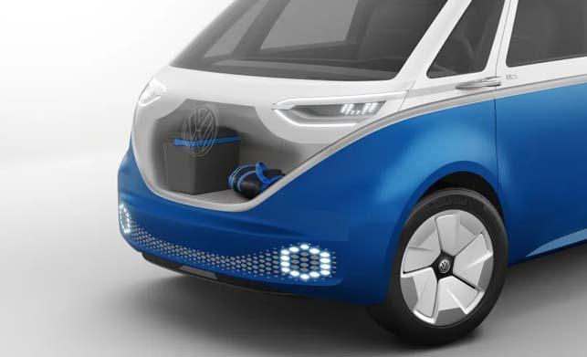 Volkswagen ID Buzz Cargo Concept Front Images