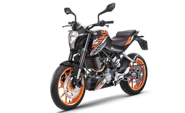 KTM 125 Bike Images