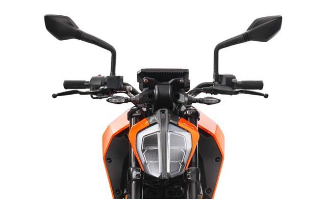 KTM 125 Head Light Images