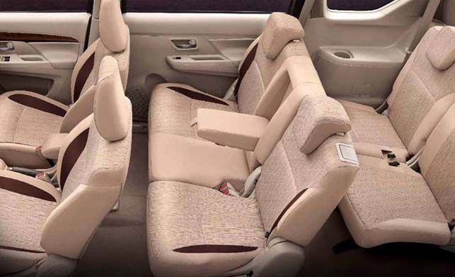 Maruti Suzuki Ertiga Interior Seat Image