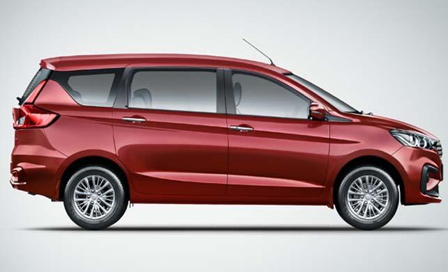 Maruti Suzuki Ertiga Right Rear Side Image