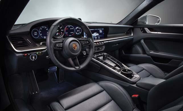 Porsche 911 Car Dashboard Image