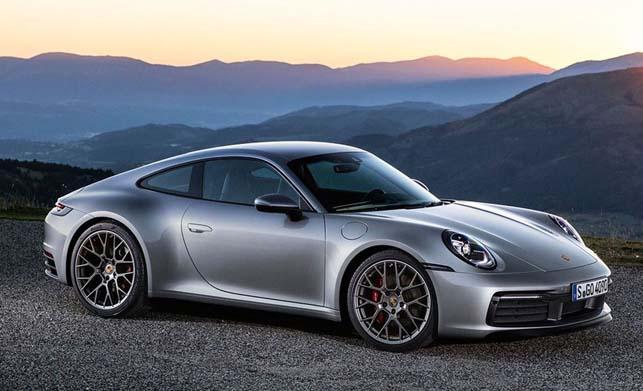 Porsche 911 Car Side View Image
