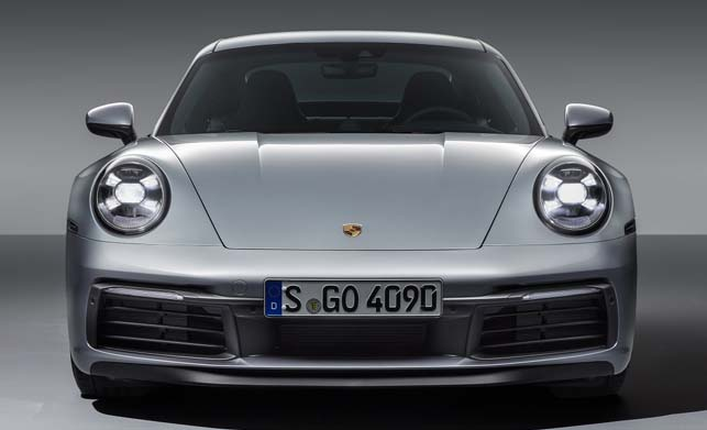 Porsche 911 Car Front Side Images
