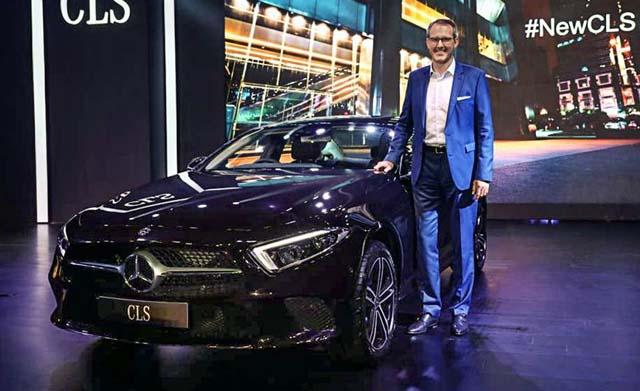 2018 Mercedes-Benz CLS price in India