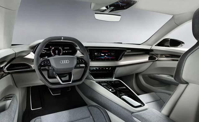 Audi e-tron GT Dashboard