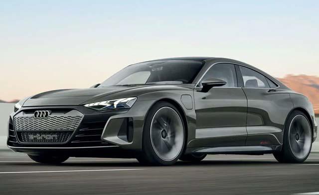 Audi e-tron GT Sideview