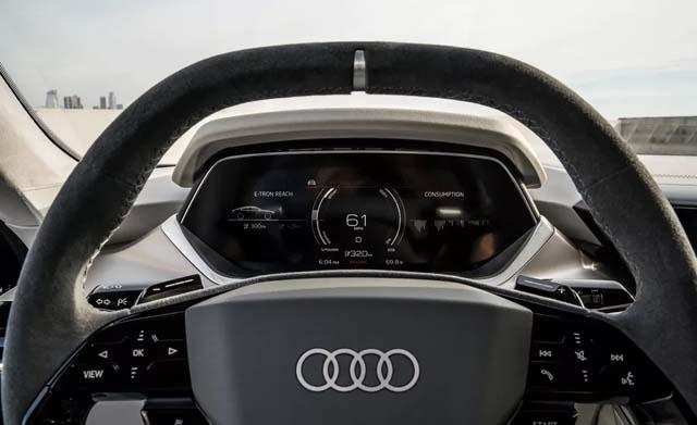 Audi e-tron GT Steering