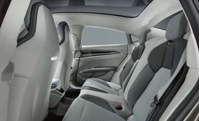 Audi e-tron GT Seating