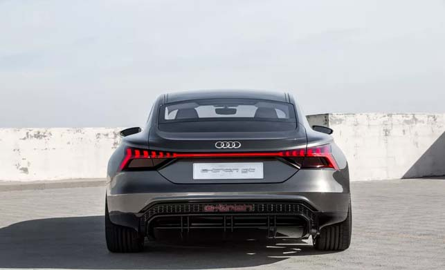 Audi e-tron gt Concept Car Back Side Pictures