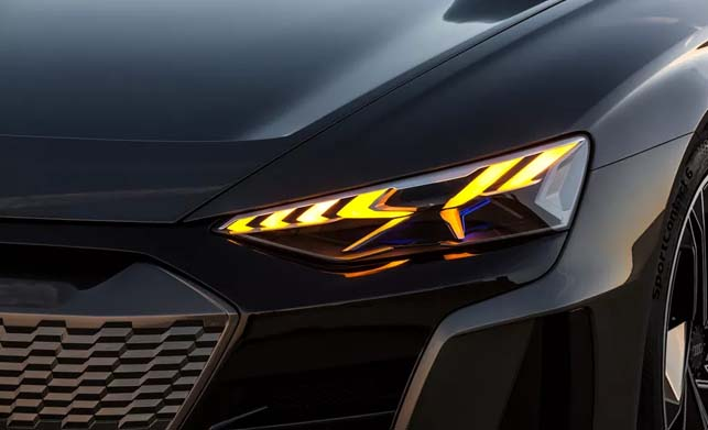 Audi e-tron gt Concept Car Light