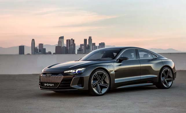Audi e-tron gt Concept New Model Car Images