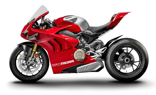 Ducati Panigale V4 R sideview1
