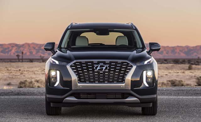 Hyundai Palisade SUV Front