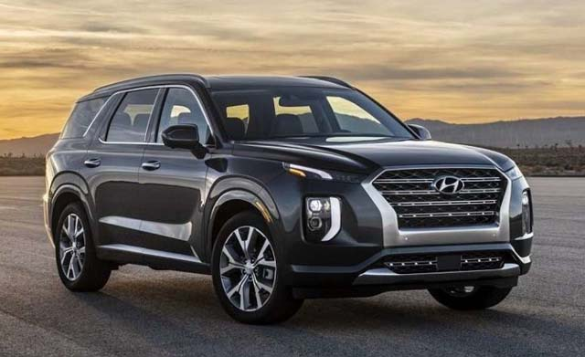 Hyundai Palisade SUV Side View