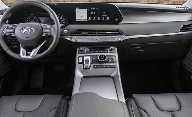 Hyundai Palisade SUV Dashboard