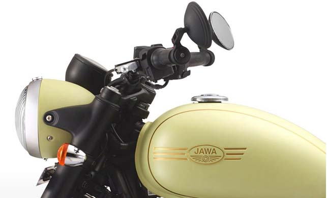 Jawa Forty Two Bike Front Look