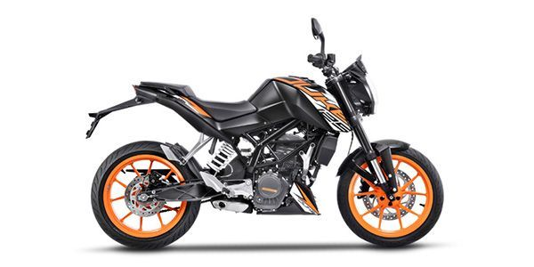 KTM 125 Duke On Road Price in Chennai